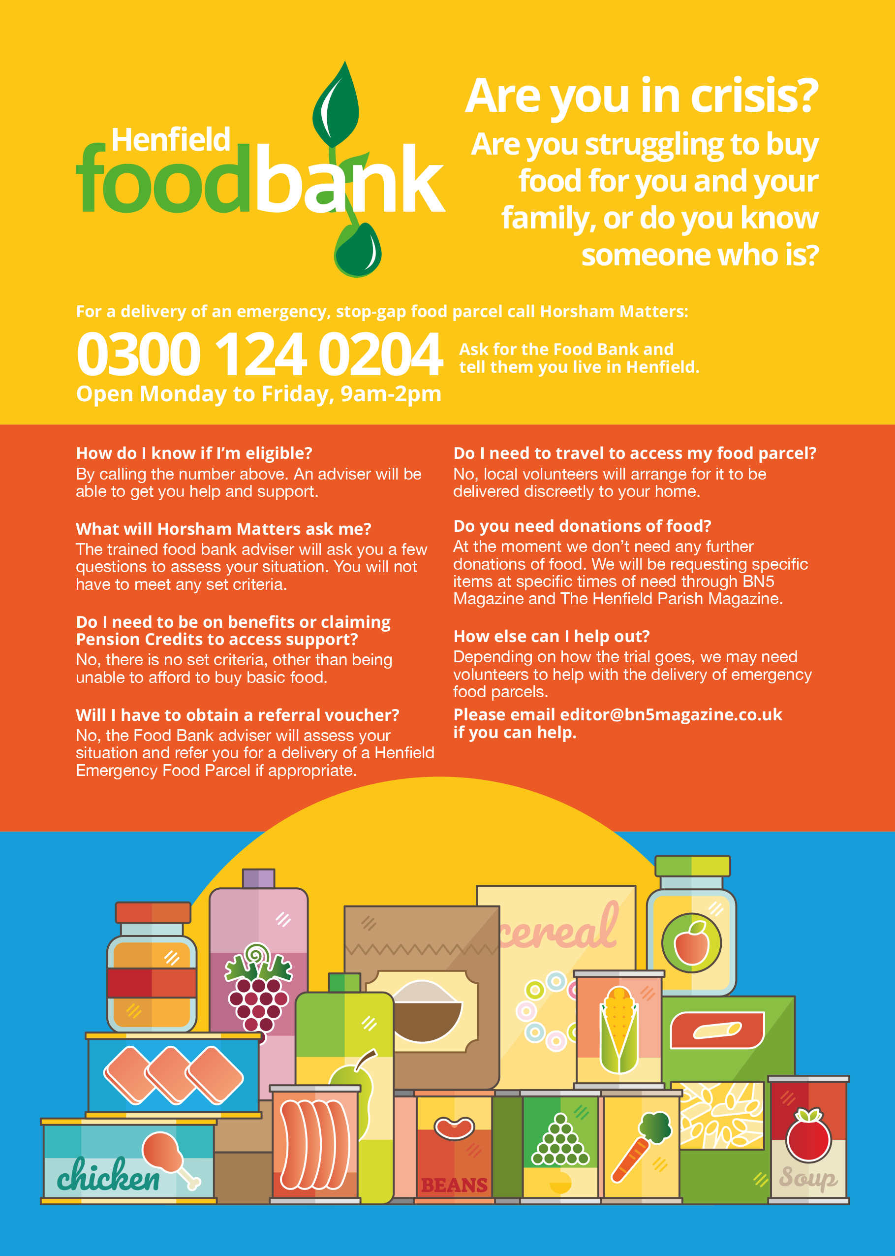 Food Bank poster 1pp